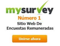 Encuestas remuneradas Mysurvey