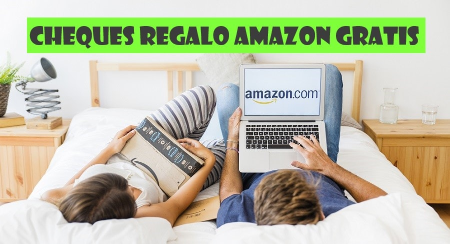 cheques regalo amazon gratis